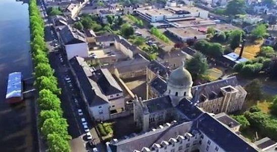 L'espace Saint-Julien vu de haut