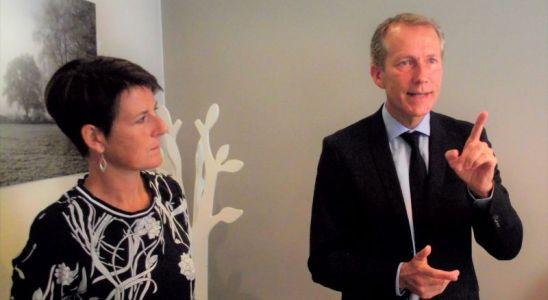 Garot et Isabelle Fougeray sa suppléante à l'Assemblée Nationale