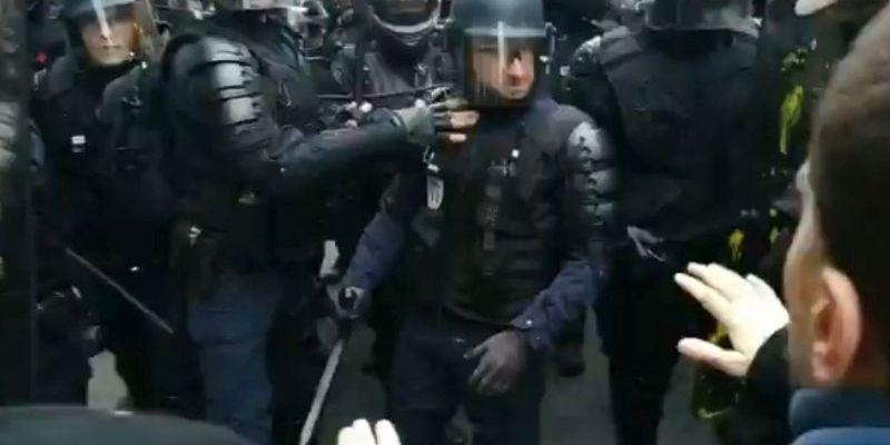 Violences policières à Paris