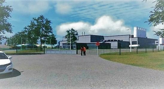 L'usine PFC une fois terminée