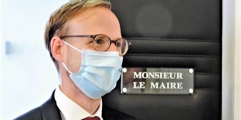 Florian Bercault le maire de Laval
