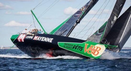 le bateau VandB dont le conseil départemental de la Mayenne est sponsor