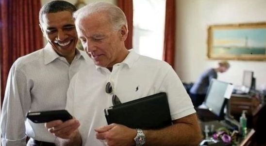 Joe Biden et Obama