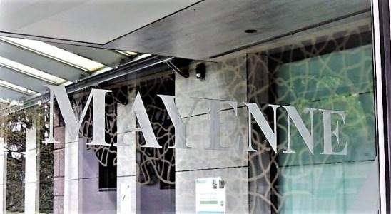 L'entrée de la municipalité de Mayenne