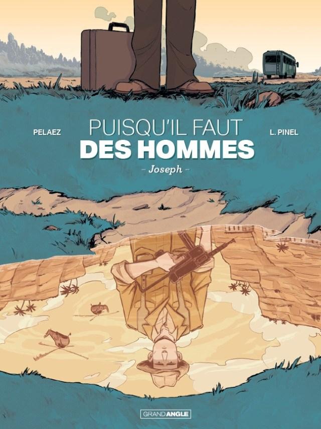 La couverture de la bande dessinée qui évoque la Mayenne