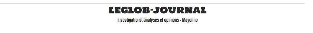 le titre du Glob-journal en Mayenne