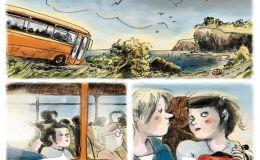 Les Quatre Soeurs BD de Cati Baur