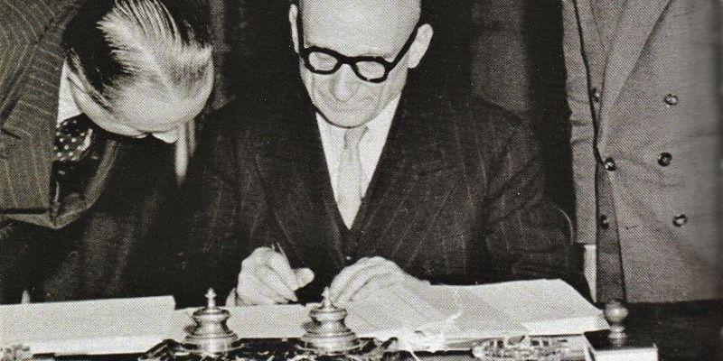 Robert Schuman fondateur Europe en voie de béatification