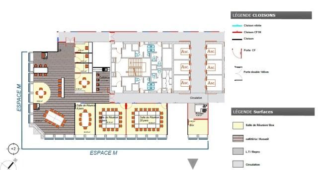 Plan du nouvel Espace M