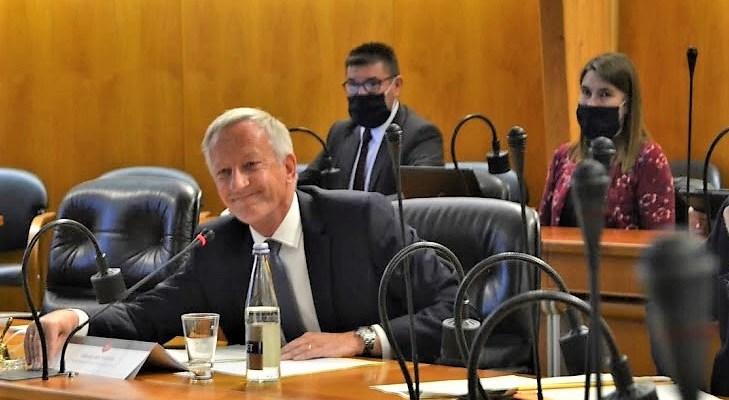 Olivier Richefou vient d'être réélu