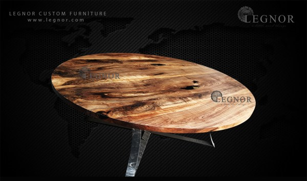 epoxy pop up round table