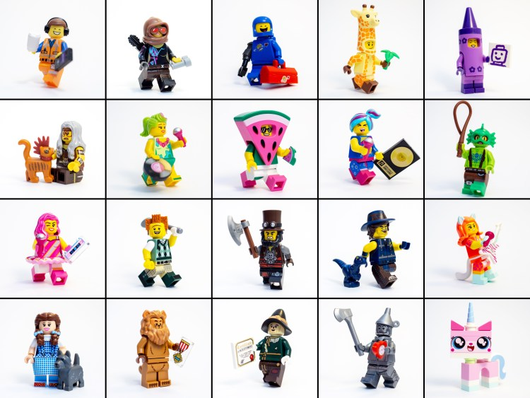 the lego movie2 minifigures
