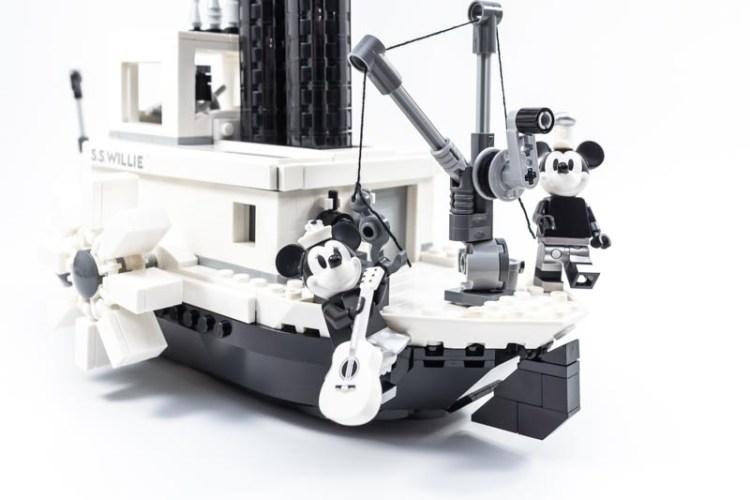 レゴ21317 蒸気船ウィリー