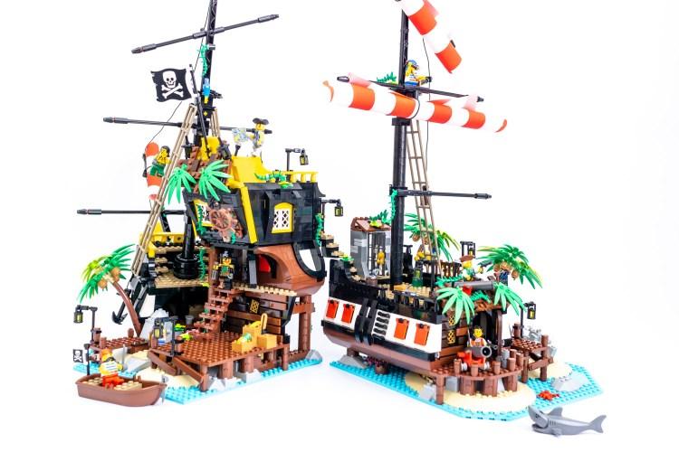 レゴ赤ひげ船長の海賊島21322