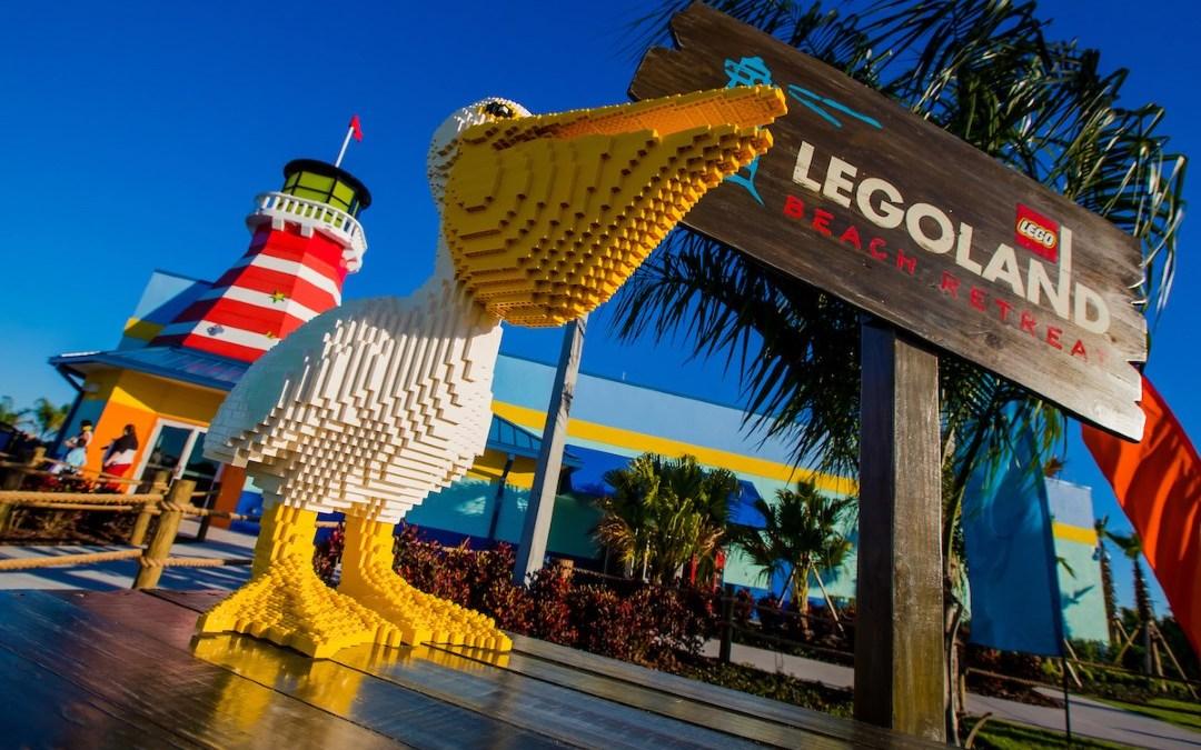 LEGOLAND Florida Beach Retreat now open.