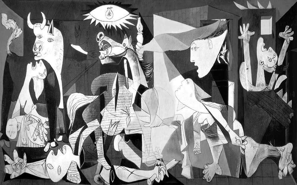 Image result for Pablo Picasso's painting Guernica