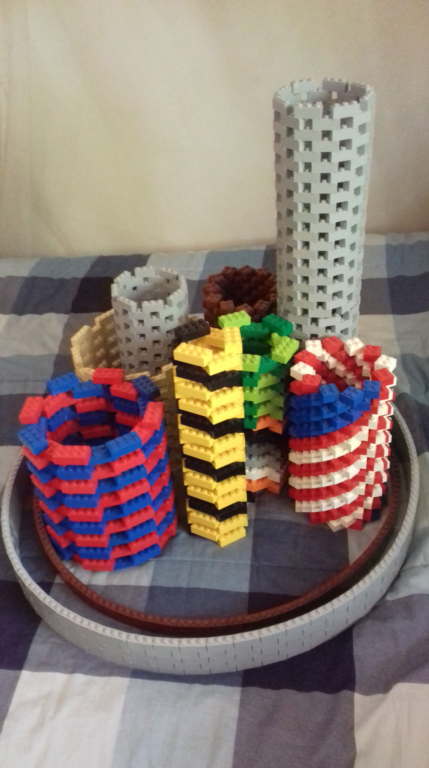Circular Lego Structures     Legos by Chris 20161020 131218