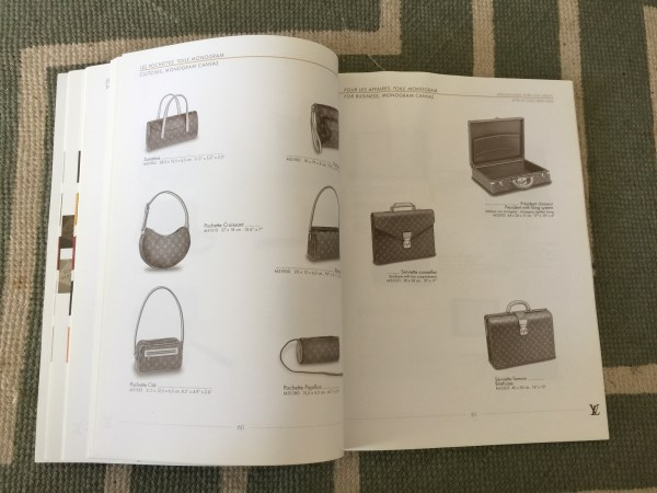 Louis Vuitton Catalog Page