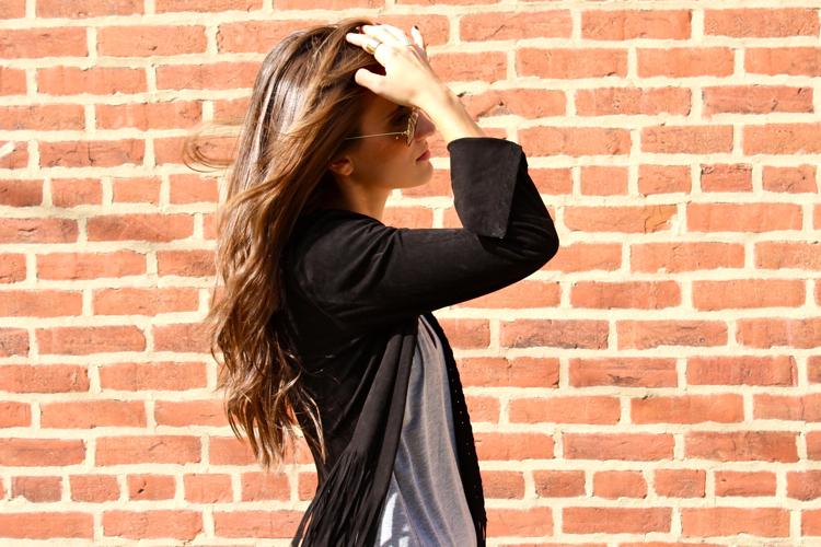 zara-black-suede-fringe-jacket