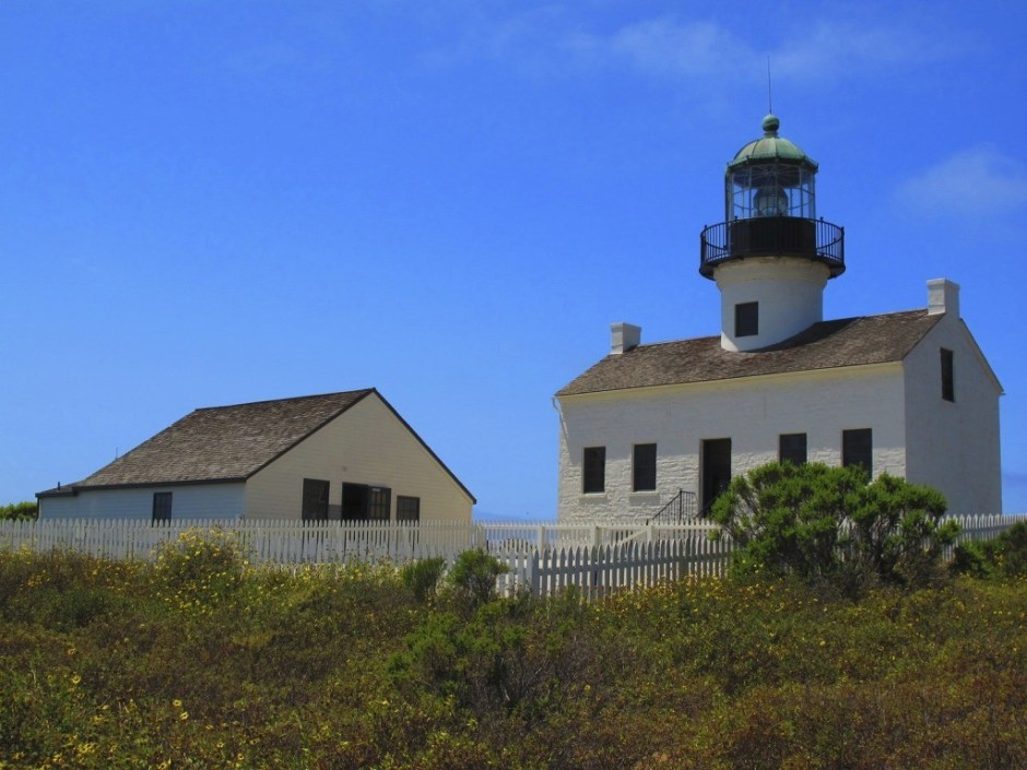 cabrillo lighthouse with kids