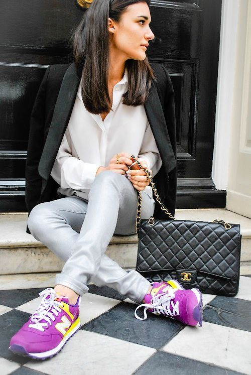 Shop this similar style Purple New Balance Sneakers