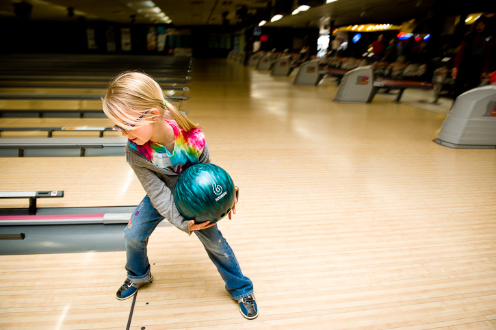 san diego bowling with kids