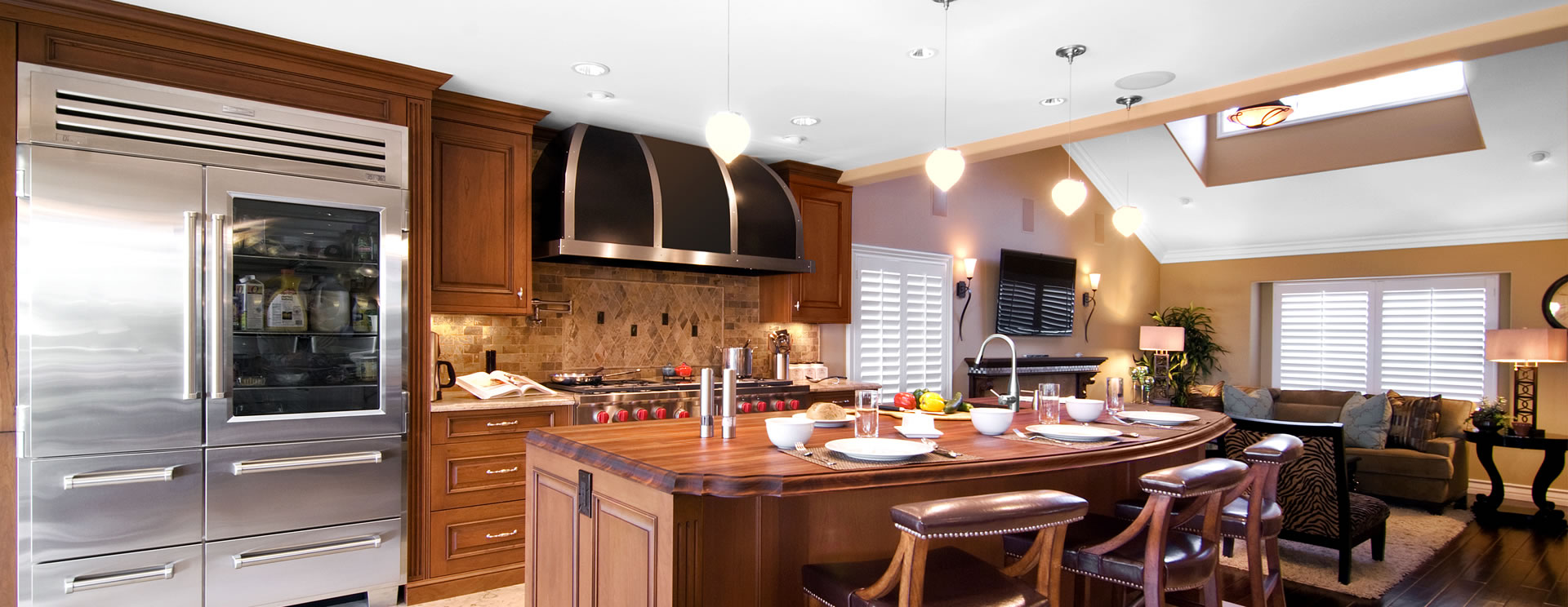 open spaces in yorba linda | le gourmet kitchen ltd.