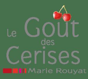 """Logo le Goût des Cerises, psychothérapie à Saint-Pierre-des-Corps. Logo visible sur la page """"qui suis-je ?""""."""