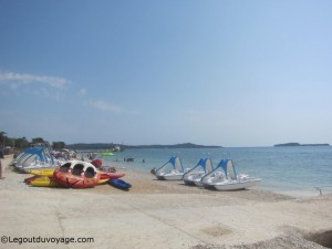 Plage Place Fažana - sports nautiques