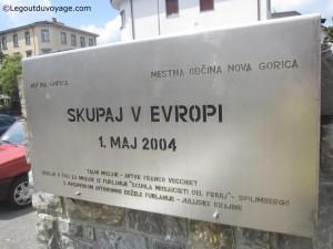 Place de l'Europe - Nova Gorica