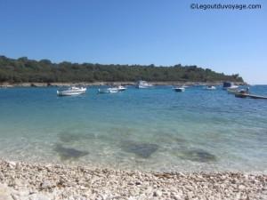 Crique Cap Kamenjak - Istrie, Croatie