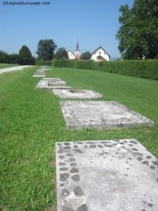 Route romaine - Šempeter
