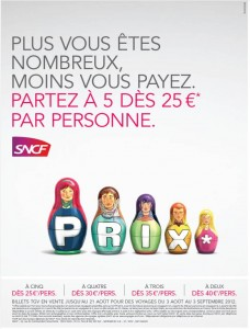 Offre promotionnelle SNCF