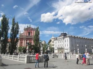 Les 3 ponts - Ljubljana