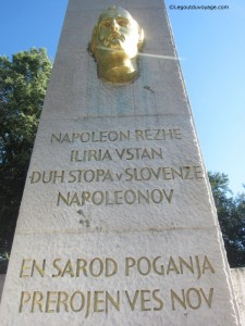 Colonne illyrienne - Trg Francoske Revolucije - Ljubljana