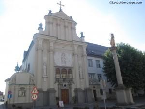 Monastère et colonne de Marie et l'enfant Jésus – Ptuj