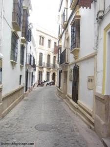 Ruelle de la vieille ville de Ronda
