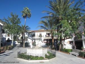 Place de la Constitution – Mijas