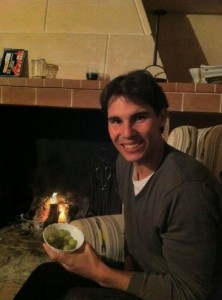 Rafael Nadal et les 12 grains de raisin