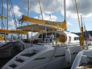 Bateau croisière îles Grenadines