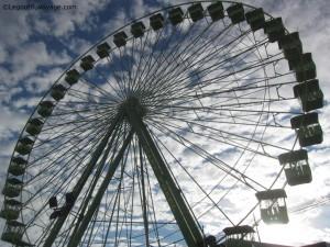Grande roue Feria San Pedro