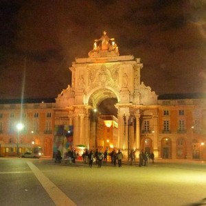 Place du commerce - Lisbonne