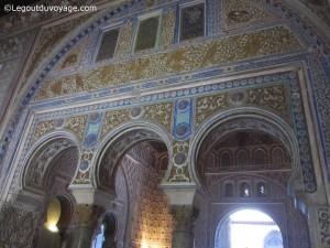 Moucharabiés - Salle à manger des Rois - Palais Mudéjar