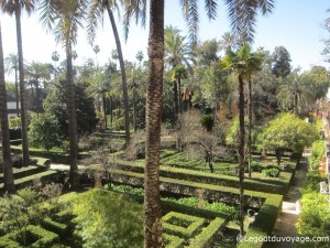 Les labyrinthes - Alcazar de Séville