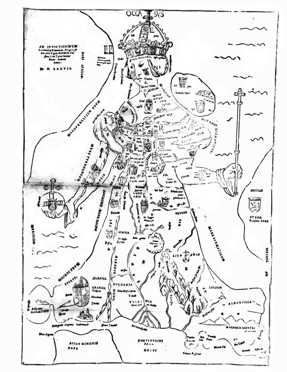 1537. Europa Regina