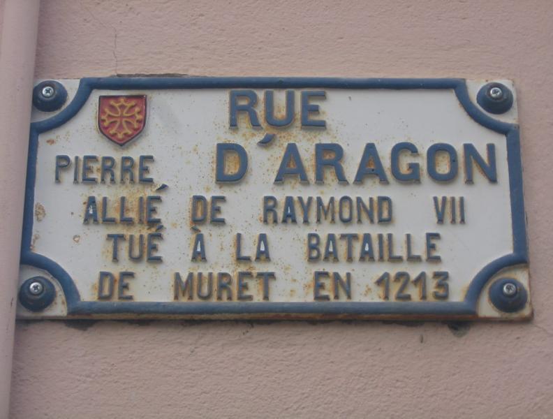 rue pierre d'Aragon