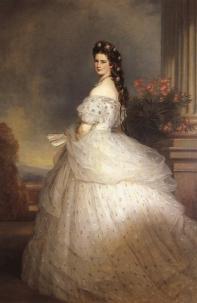 Principessa Elisabetta d'Austria (1865).Franz Xaver Winterhalter
