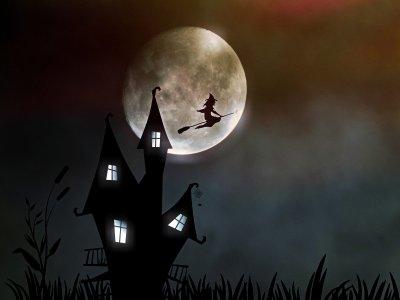 Illustration histoire Halloween pour petit