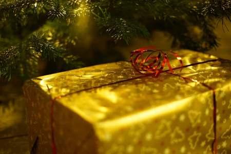 Illustration de l' histoire de Noël à écouter