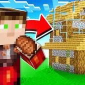Minecraft, But Eating Spawns Random Structures!